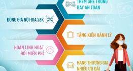 Vietnam Airlines triển khai chương trình Hành trang bay cho hành trình trọn vẹn từ 1/6/2021 - 15/6/2021