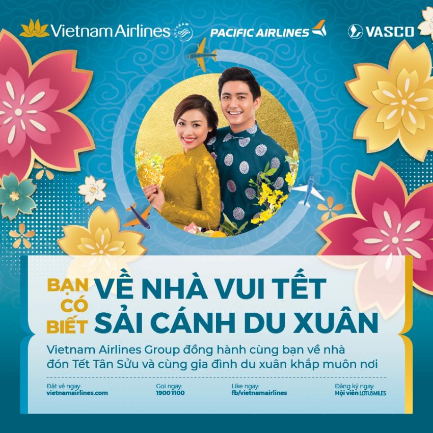 VIETNAM AIRLINES MỞ BÁN TẾT TÂN SỬU 2021